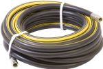 Air Line Hose - Black Rubber with Yellow Stripe 13 mm